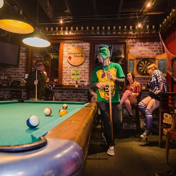 Eugene's Downtown area is home to Starlight Lounge, Euegne's Best Happy Hour
