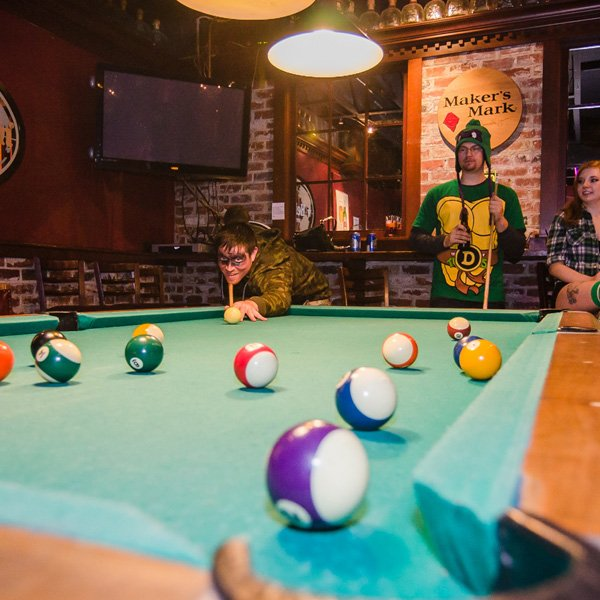 Enjoy Eugene's Best Happy Hours while in Starlight Lounge's Private Pool Room.